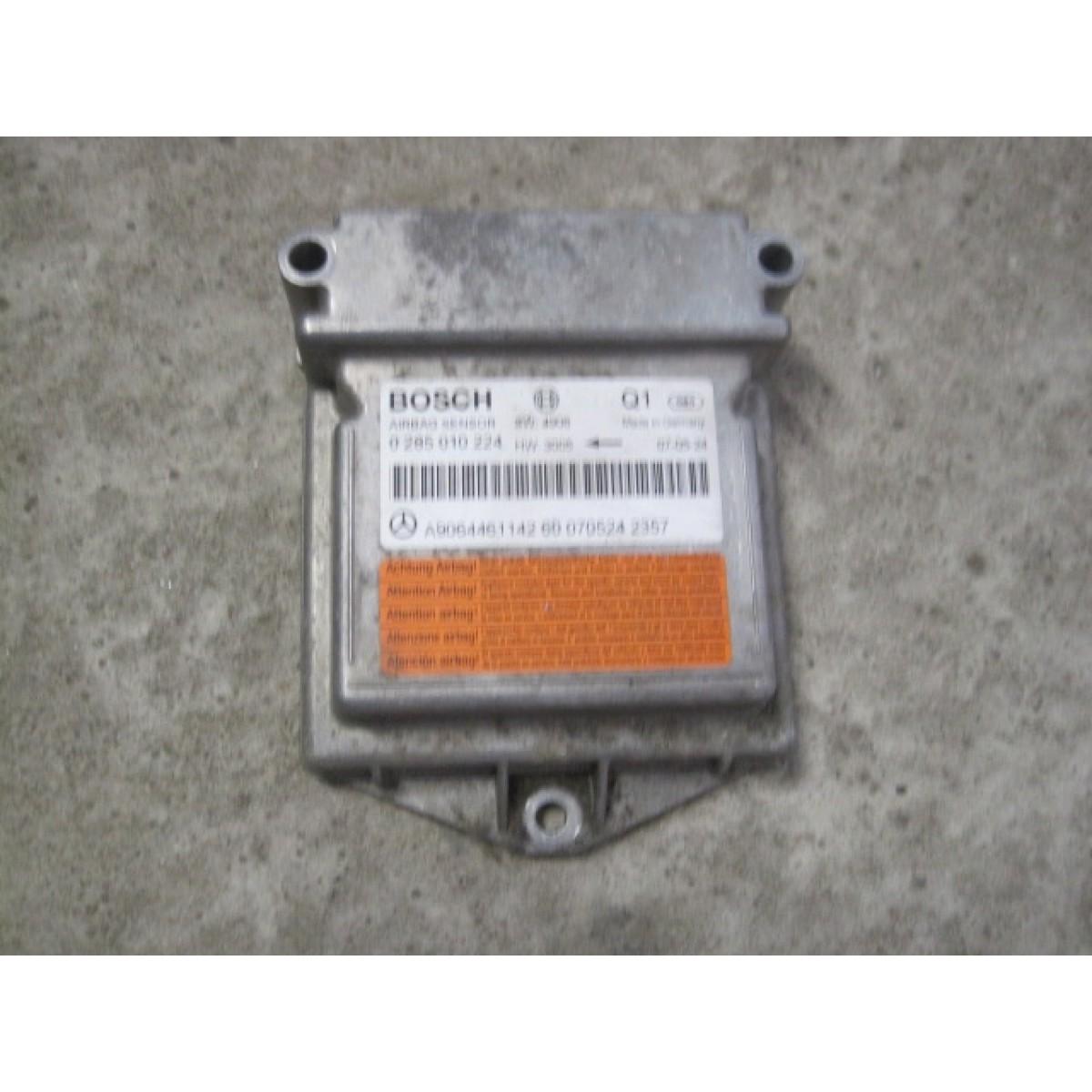 Mercedes benz sprinter airbag sensor steuerger t 0285010224 for Mercedes benz airbags