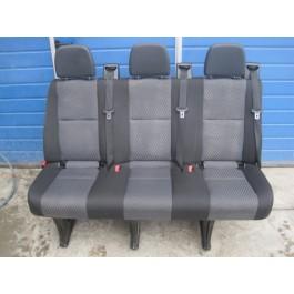 Volkswagen Crafter /Mercedes Benz Sprinter W906 140 cm 3er Sitzbank mit ISO Fix im gutem Zustand !