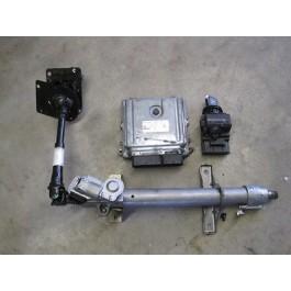 Mercedes Benz Sprinter W906 Motorsteuergerät mit Schlüssel und Weg. A6461506172